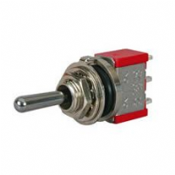 DURITE <BR> 3 Way Momentary On/Off/Momentary On Miniature Toggle Switch<br>ALT/0-496-60
